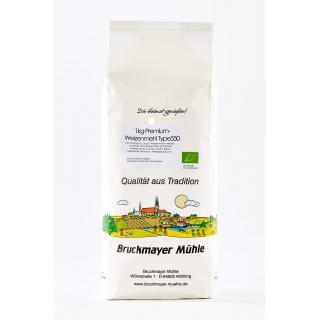 BIO Weizenmehl und -Körner