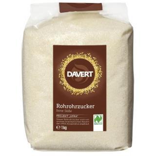 Davert Rohrohrzucker, hell, Brasilien, 1 kg Packun