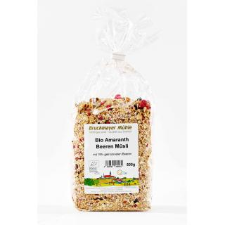 Amaranth - Beerenmüsli biol. Anbau
