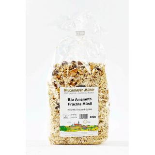 Amaranth - Früchtemüsli biol. Anbau