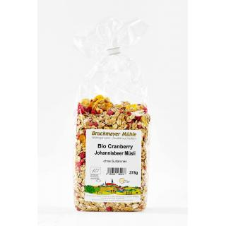 Bio Cranberry Johannisbeer Müsli