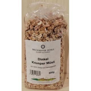 Dinkel - Knuspermüsli