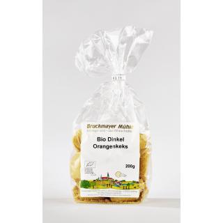 Bio Dinkel - Orangen - Keks