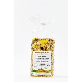 Müsli ohne Sultaninen biol. Anbau