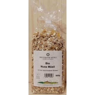Nuß -Crunchy Bio Müsli