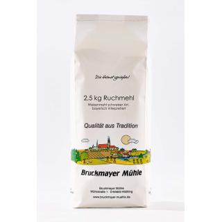 Ruchmehl (Weizen) bayerische Art  2,5kg