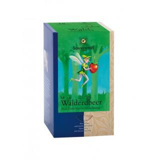 Walderdbeer-Früchtetee Teebeutel einzeln kbA