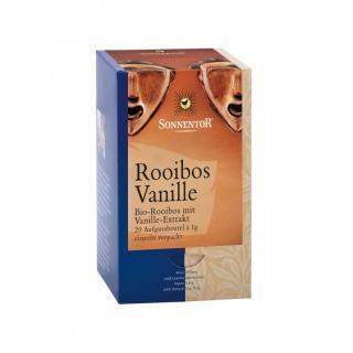 Rooibos-Vanille Teebeutel einzeln kbA