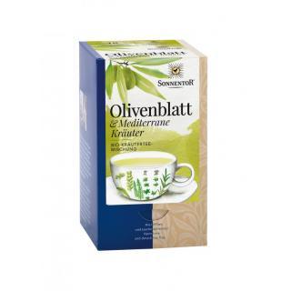 Olivenblatt & Mediterrane Kräuter kbA, Teebeutel e
