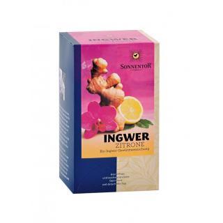 Ingwer-Zitronen-Tee Teebeutel einzeln kbA