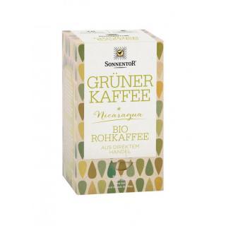Grüner Kaffee bio, Doppelkammerbeutel