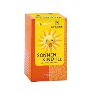 Sonnenkind- Baby-Tee Teebeutel einzeln kbA