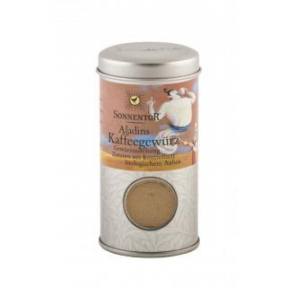 Aladins Kaffeegewürz kbA, Gewürzstreudose